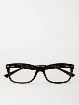 Ray-Ban Square-Frame Tortoiseshell Acetate Optical Glasses - Men - Black