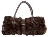Fendi Fur Selleria Shoulder Bag