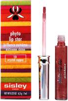 Sisley Phyto Lip Star Extreme Shine - No 10 Crystal Copper Lip Gloss for Women, 0.22 Ounces