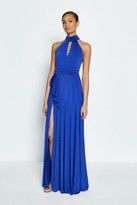 Coast Jersey Halter Neck Maxi Dress