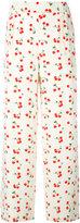 Chinti and Parker cherry pyjamas - women - Silk/Elastodiene - 6