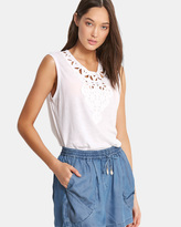 Seafolly Geo Lace Insert Top