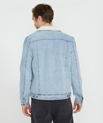 Insight Nichelson Denim Jacket Arctic Blue