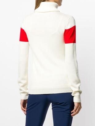 Perfect Moment Ski intarsia-knit jumper