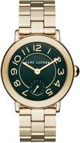Marc Jacobs Women's Riley Gold-Tone Stainless Steel Bracelet Watch 36mm MJ3488