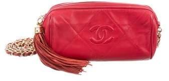 Chanel Diamond Barrel Bag