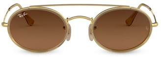 Ray-Ban RB3847 52MM Oval Sunglasses