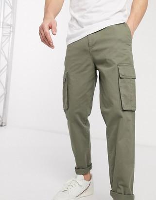 New Look cargo pant in khaki