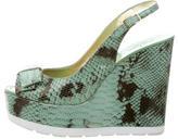 Kate Spade Slingback Wedge Sandals