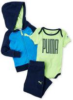 Puma Infant Boys) 3-Piece Hoodie & Pants Set