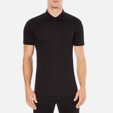 Versace Collection Chest Logo Polo Shirt Black