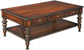One Kings Lane St. Kitts 50 Coffee Table, Mahogany