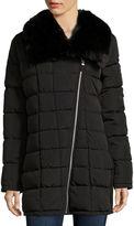 A.N.A a.n.a Asymmetrical Zip Puffer Jacket