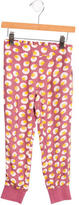 Stella McCartney Girls' Floral Print Straight-Leg Pants
