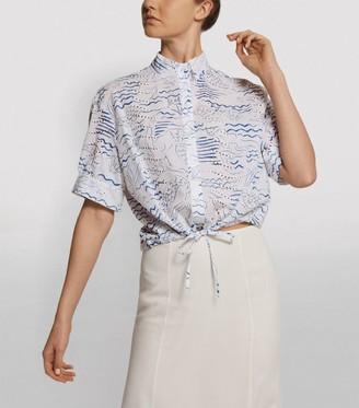 Kenzo Mermaid Crop Shirt