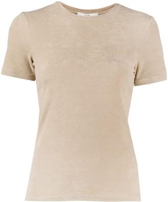 Tibi Short-Sleeved Knitted Top