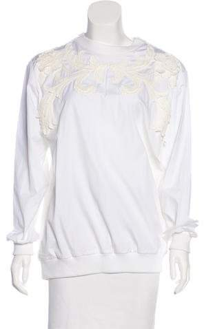 Givenchy Oversize Appliqué Top w/ Tags