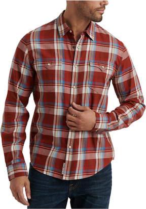 Lucky Brand Men Alameda Regular-Fit Plaid Western Shirt