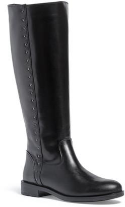 Italian Shoemakers Jenny Leather Knee High Boot