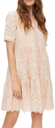 Y.A.S Holi Broderie Mini Dress