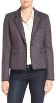 Classiques Entier Fringe Tweed Blazer (Regular & Petite)