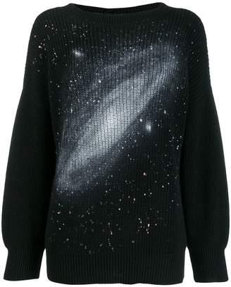 Pinko oversized galaxy jumper