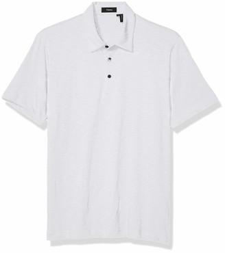 Theory Men's Bron C Cosmos Slub Cotton Polo