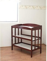 L.A. Baby Wooden Changing Table in Espresso