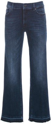 7 For All Mankind Cropped Boot Unrolled Slim Illusion