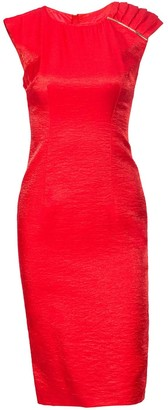 Nissa Bodycon Dress With Sparkling Detail