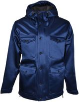 Ami Alexandre Mattiussi Ami Hooded Raincoat