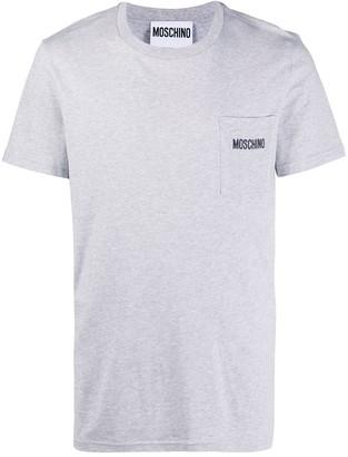 Moschino logo pocket T-shirt