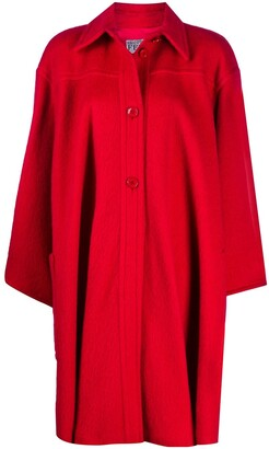 Gianfranco Ferré Pre Owned 1980s Wool Cape Coat
