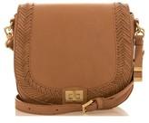 Brahmin Southcoast Sonny Leather Saddle Bag - Brown