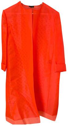 Fendi Orange Polyester Coats