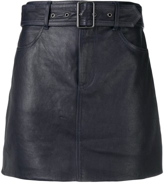 Victoria Victoria Beckham Belted Mini Skirt