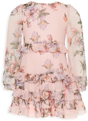 Bardot Junior Girl's Henri Ruffle Floral Dress