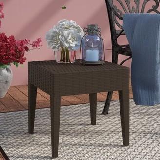 Kesler Side Table Brayden Studio Color: Brown