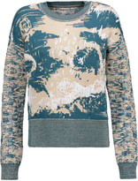 MM6 MAISON MARGIELA Intarsia knitted sweater