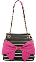 Betsey Johnson Oh Bow You Didn&t Satchel