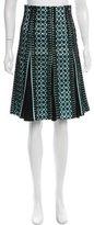 Nanette Lepore Flared Midi Skirt