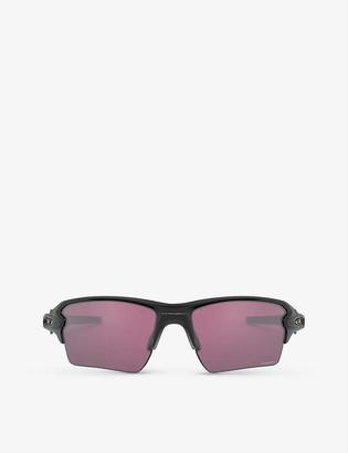 Oakley OO9188-B559 FlakTM 2.0 XL O MatterTM rectangular-framed sunglasses