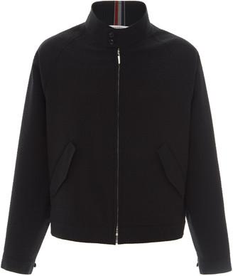 Thom Browne Wool Zip-Up Jacket
