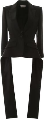 Alexander McQueen Slashed Couture Blazer