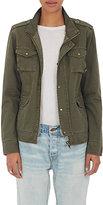 NSF Women's Kae Shrunken Field Jacket-DARK GREEN