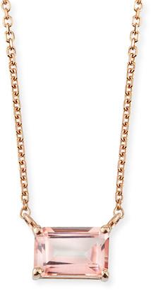 Suzanne Kalan KALAN by Amalfi 14K Rose Gold Emerald-Cut Necklace