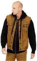 True Religion Mens Distressed Dylan Vest