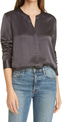 Rails Reiss Pearl Popover Blouse