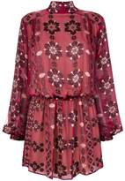 Pierre Balmain floral print dress