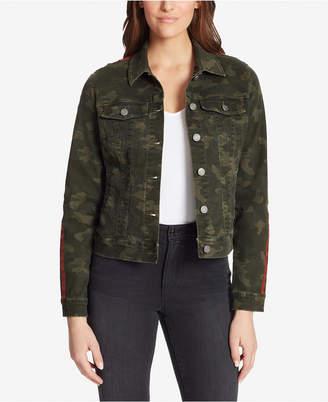 Skinnygirl Camo Denim Jacket